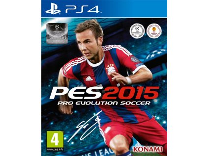 PS4 Pro Evolution Soccer 2015