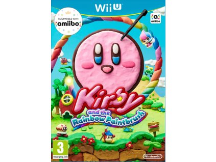 WiiU Kirby and the Rainbow Curse