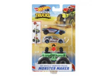 Toys Hot Wheels Monster Trucks Maker Bone Sharkruser Vehicles