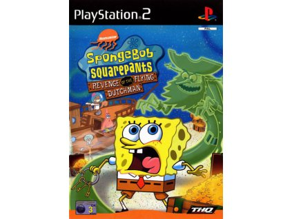 PS2 SpongeBob SquarePants Revenge of the Flying Dutchman
