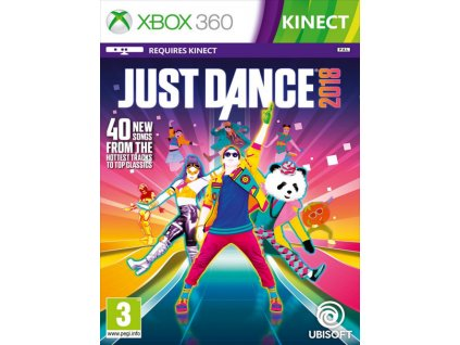 X360 Just Dance 2018