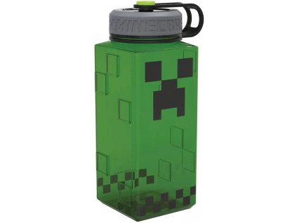 Merch Láhev Minecraft hranatá