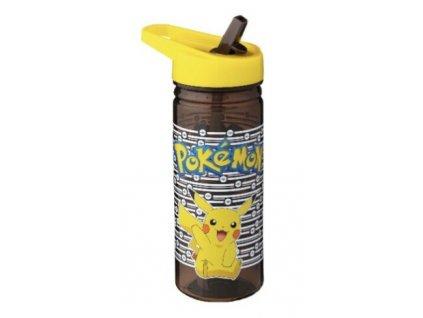 Merch Láhev na pití Pokemon černá