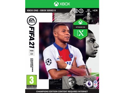 XONEXSX FIFA 21 Champions Edition CZ