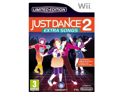 Wii Just Dance 2 Extra Songs