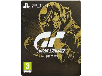 PS4 Gran Turismo Sport Special Edition Steelbook
