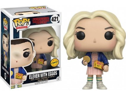 Merch Funko Pop! 421 Television Stranger Things Eleven With Eggos Limited Chase Edition