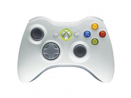 X360 Wireless Controller White Originál Microsoft