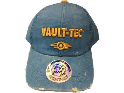 Merch kšiltovka Fallout Vault Tec Vintage