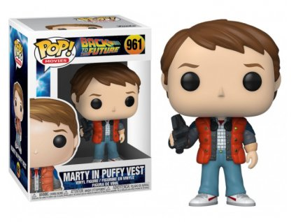 Merch Funko POP! 961 Back To The Future Marty in Puffy Vest