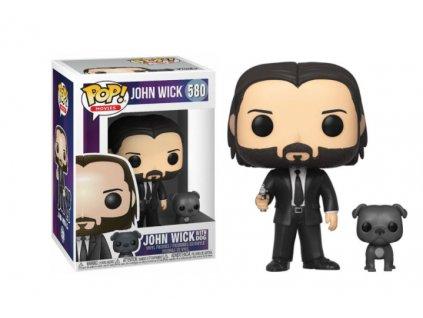 Merch Funko Pop! 580 Movies John Wick John Wick With Dog