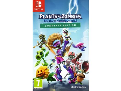 Swtich Plants Vs Zombies Battle For Neighborville Complete Edition