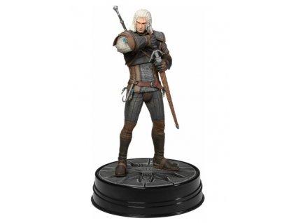 Merch Figurka Dark Horse The Witcher 3 Wild Hunt Heart Of Stone Geralt Deluxe 24 cm