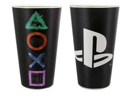 Merch Sklenice Playstation