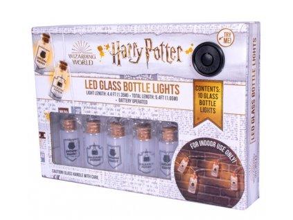 Merch světýlka Harry Potter Led Glass Bottle Lights