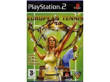 PS2 European Tennis Pro