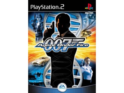 PS2 James Bond Agent Under Fire