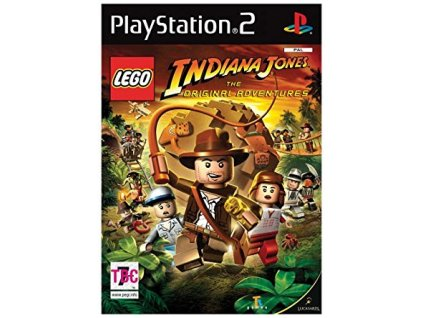 PS2 LEGO Indiana Jones The Original Adventures