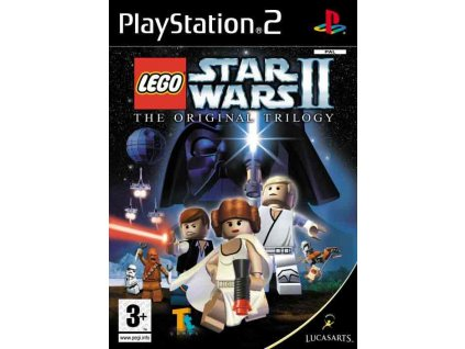 PS2 Lego Star Wars 2 The Original Trilogy