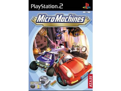 PS2 Micro Machines