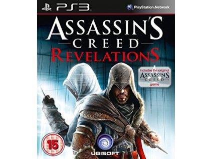 PS3 Assassins Creed Revelations + Assassins Creed 1