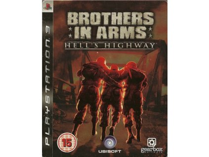 PS3 Brothers in Arms Hells Highway Steelbook Edition