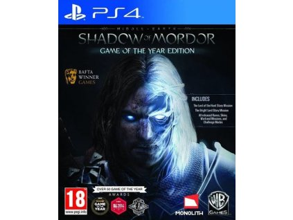 PS4 Middle-Earth Shadow of Mordor GOTY Edition - jen hra