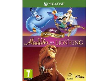 XONE Disney Classic Games Aladdin and the Lion King