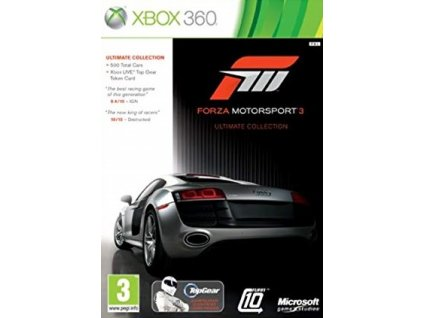 X360 Forza Motorsport 3 Ultimate Collection CZ