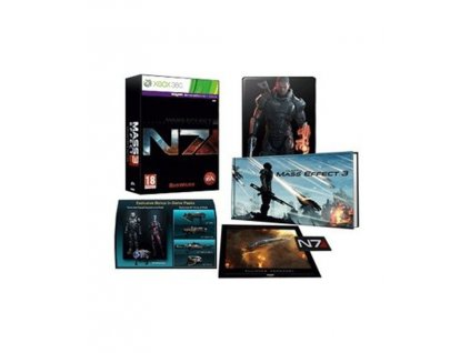 Mass Effect 3 Coll Edn N7 Xbox m 3 2x 2197b