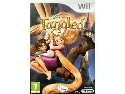 Wii Disney Tangled (na Vlásku)
