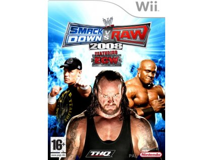 Wii WWE SmackDown vs RAW 2008