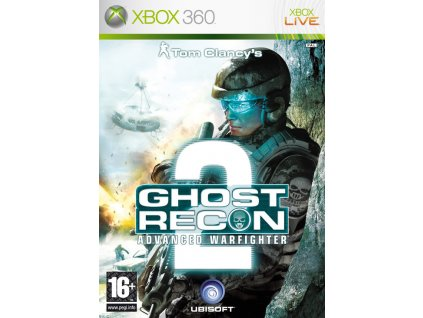 X360 Tom Clancys Ghost Recon Advanced Warfighter 2-