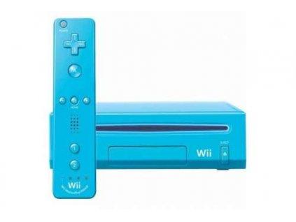 Wii Konzole Nintendo Blue