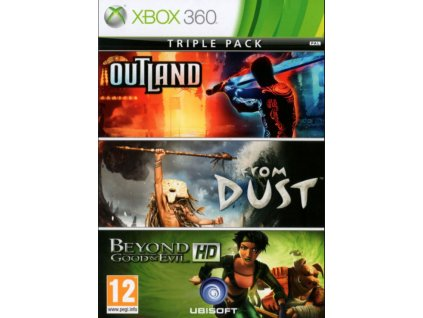 X360 Outland From Dust Beyond Good Evil