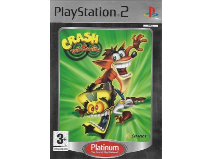 PS2 Crash Twinsanity Platinum Nové