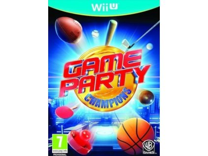 WiiU Game Party Champions