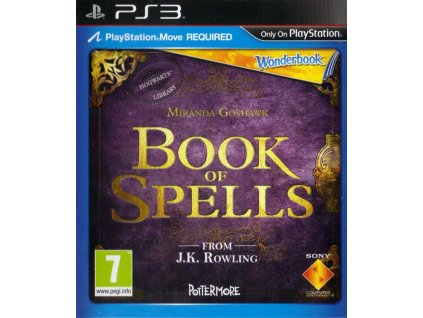 283906 wonderbook book of spells playstation 3 front cover