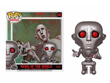 Merch Funko Pop! 06 Figurka Albums Queen News Of The World