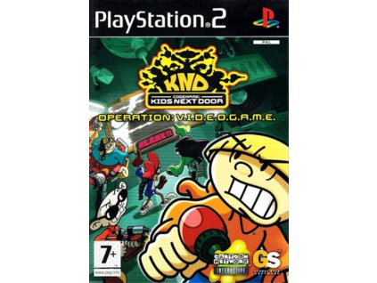 PS2 Codename Kids Next Door Operation V.I.D.E.O.G.A.M.E.