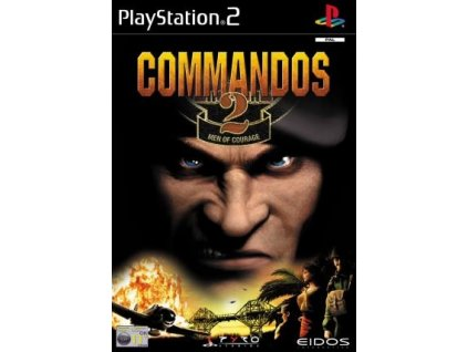 PS2 Commandos 2 Men of Courage