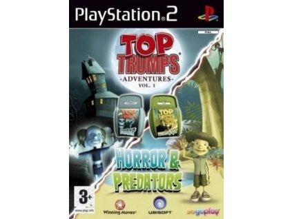 PS2 Top Trumps Horror and Predators