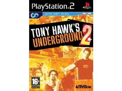 PS2 Tony Hawks Underground 2