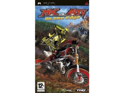 PSP MX vs ATV On the Edge