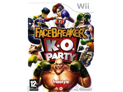 Wii Facebreaker K.O Party