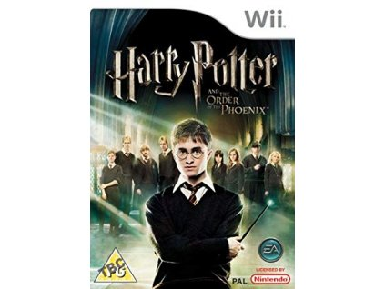 Wii Harry Potter and the Order of the Phoenix
