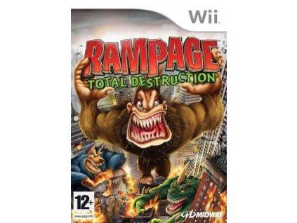 Wii Rampage Total Destruction