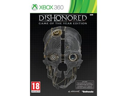 X360 Dishonored Game of the Year Edition