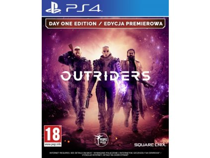 PS4 Outriders Day One Edition