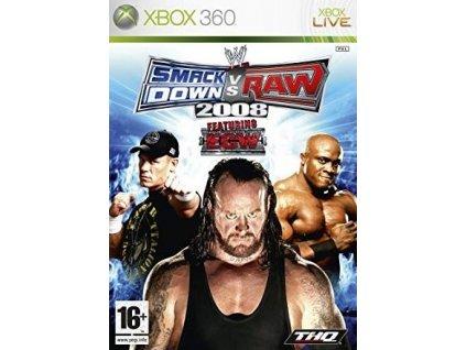 X360 WWE Smackdown vs Raw 2008 Nové